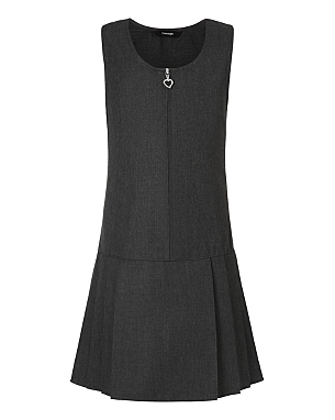 Charcoal pinafore